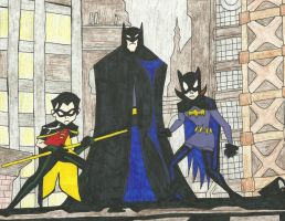 The Batman and Friends by maxwillflyonwings
