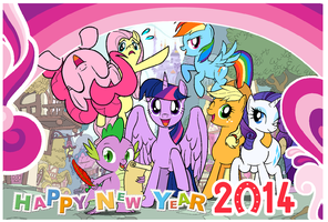 Though I was a little bit late to say, A Happy New by PhoenixPeregrine