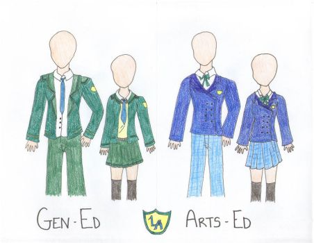 Lyle Academy Uniforms by petalxrain