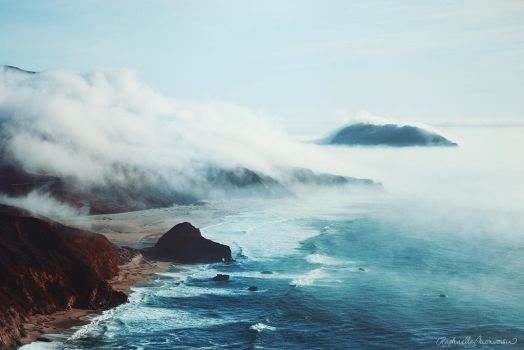 Sea of Mist by RaphaelleM