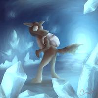 Ice Caves by DragonarySilver