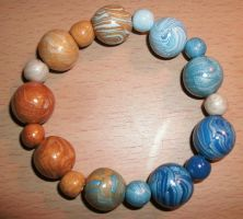 Sand and Sea Bracelet by rose-star