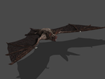 MORTAL ONLINE 2015- CAVE BAT ORIGINAL BONES by Oo-FiL-oO