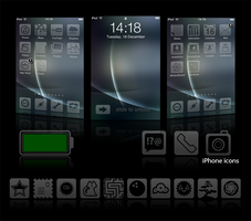 Glacies v1.1 - iPhone Theme by 3rror404