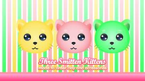 Three Smitten Kittens by yami-joey