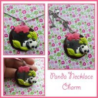 Panda Charm Necklace by FantasySystem