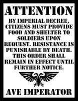 Imperial Poster No. 1 by AnonymousONIagent