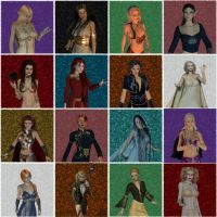 Dragonlance Ladies by Erevia