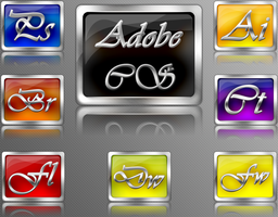 Adobe series program Icons by Matapalo