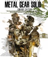 MGS3.Big Boss pencil draw by me (The bossShinkawa) by GabrielArtist