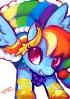 Rainbow Dash by Scarlet-Songstress