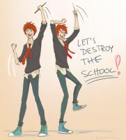 let's destroy it! by bebberry