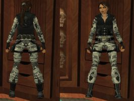 Lara Croft: special forces, urban by TanyaCroft