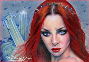 Daughter of Triton by Katerina-Art