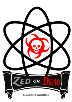 Our new site logo for ZEDorDEAD.co.uk by ZEDorDEAD