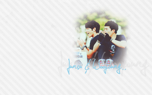 Junsu n' wooyoung -- wallpaper by BeeBKawaii