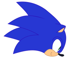 Sonic Equestria Vector - Lives Icon by cooleevee759