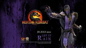 Mortal Kombat Rain Wallpaper by Poser96