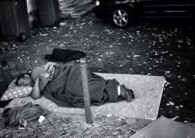 homeless in lisbon 2012 by 1Pace