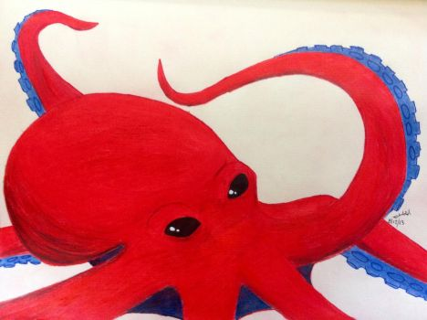 The Red Octopi by Darvia123