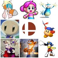 Smash Brother 4 Need Characters Collage/Wallpaper, by Tommypezmaster