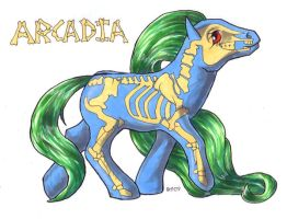 Arcadia my little pony by andpie