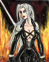 Female Sephiroth by Bartleby006