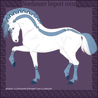 1002 Group Horse Import by Cloudrunner64