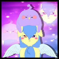 Sky Pegasus (adopted character :3) by Lali-the-Bunny