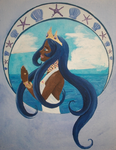 Contest Entry: Marriage of Sky and Sea by Thunessey
