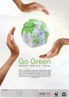 Full Page for Go Green Campaign by SongYong