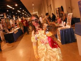Wondercon 2013 Beauty and the Beast horror by DougSQ