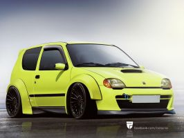 Fiat Seicento by rainprisk