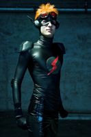 Fast Life- Kid Flash cosplay by Detailed-Illusion