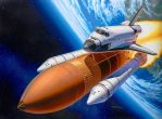 Space Shuttle Discovery Art by SyahrudinFaizal