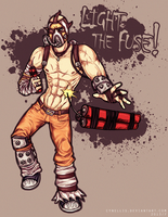 LIGHT THE FUSE! - Krieg the Psycho by cynellis