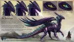 Dragon Reference Sheet Commission Guide. by Bertross
