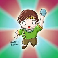 Gashapon Kun in Silly-yu's style by RiverKpocc