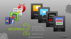Android Icons Set 2 Templates by bharathp666