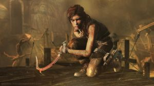 TOMB RAIDER: Chasm warrior by doppeL-zgz