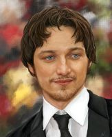 James McAvoy by x-gogole-x