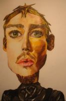 Caricature Daniel Johns by frailandonly