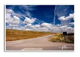 blue skies and puffy clouds ... 7 days left by Mbitions-Markus