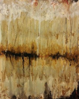 Cappucino abstract #3  Fissure by TJKruse