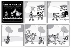 Silent Sillies - There's always a Bigger Bully by JK-Antwon