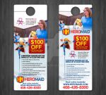 HeroMaid Door Hanger by lryvision