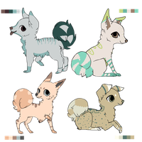 Dog adoptables by LeveButt