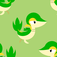 Snivy Tile Background by BuizelKnight