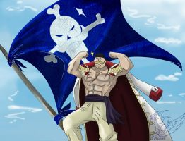 krossover FMAOnePiece_strong man by Di-Phoenix