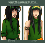 Draw This Again Meme by Kuromu